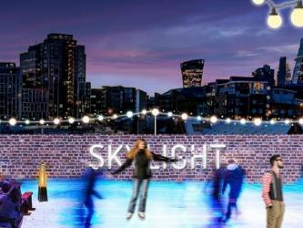 Skylight Rooftop Ice Skating