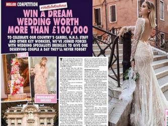 dream wedding competition hello magazine