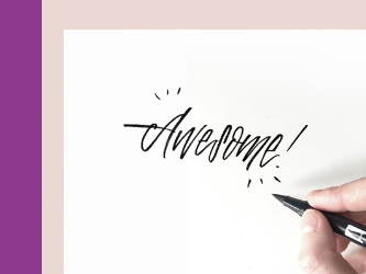 Brush Lettering with Anne Michelle